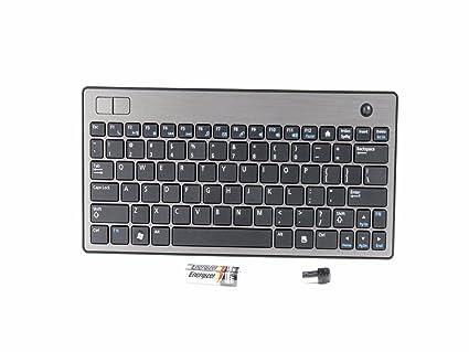 Amazon Com Dell Wireless Trackball 83 K Us Compact Keyboard Hn4nf