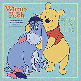 4f430883f984 2018 Winnie the Pooh Wall Calendar (Day Dream)  Day Dream  9781682096574   Amazon.com  Books