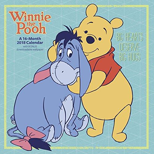 2018 Winnie the Pooh Wall Calendar (Day Dream)
