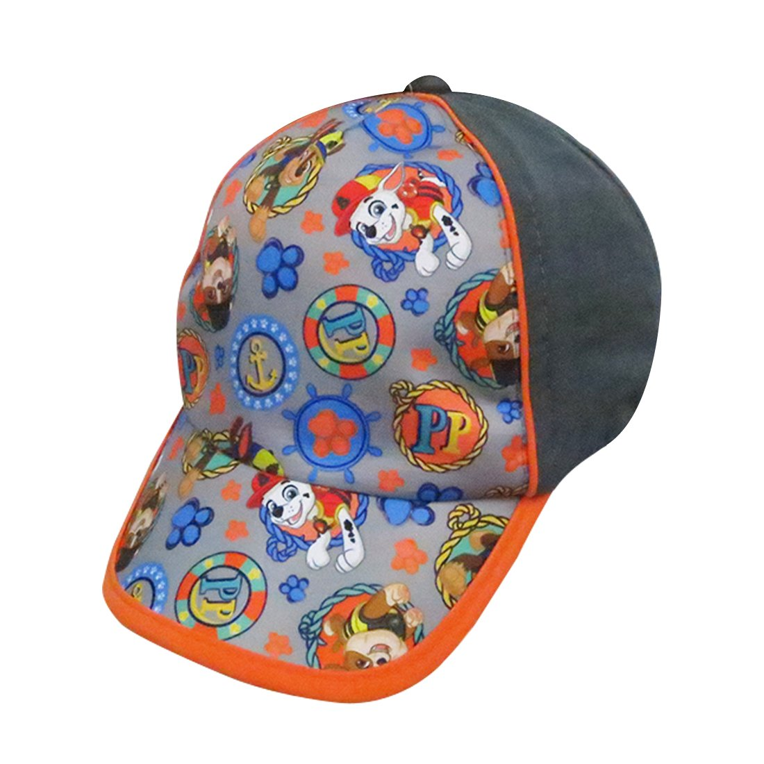 Paw Patrol Boys Baseball Cap with Marshall and Chase Characters - 100% Cotton