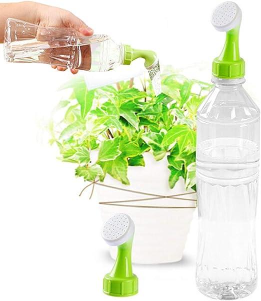 Unetox Botella de plástico Boquilla de riego para Plantas aspersor ...