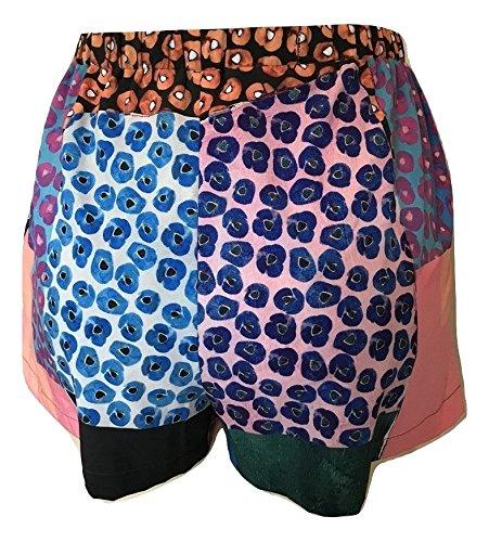 Clover Canyon Women's MOD Poppies Shorts, Multi, Medium