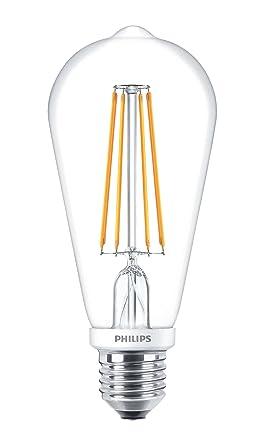 Philips Classic LED ST64 - Bombilla LED con filamento estilo vintage, intensidad regulable, 7