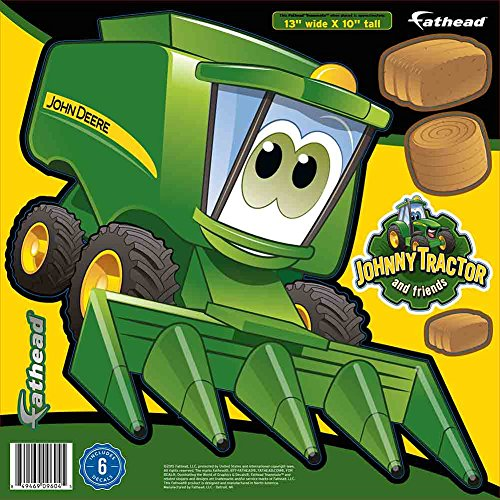 John Deere Cartoon Combine Teammate Fathead Peel U0026 Stick Wall Decal