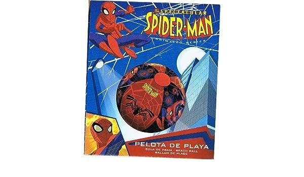 SPIDERMAN-Balón gonflable-Pelota de playa, piscina de peluche 40 ...
