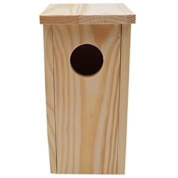 Power-Preise24 proheim Nistkasten Compact 22 x 9 x 10 cm aus FSC Holz Nisthaus perfekt f/ür Meisen Kohlmeisen Kleiber Rotschw/änzchen und weitere Vogelarten Vogelnistkasten