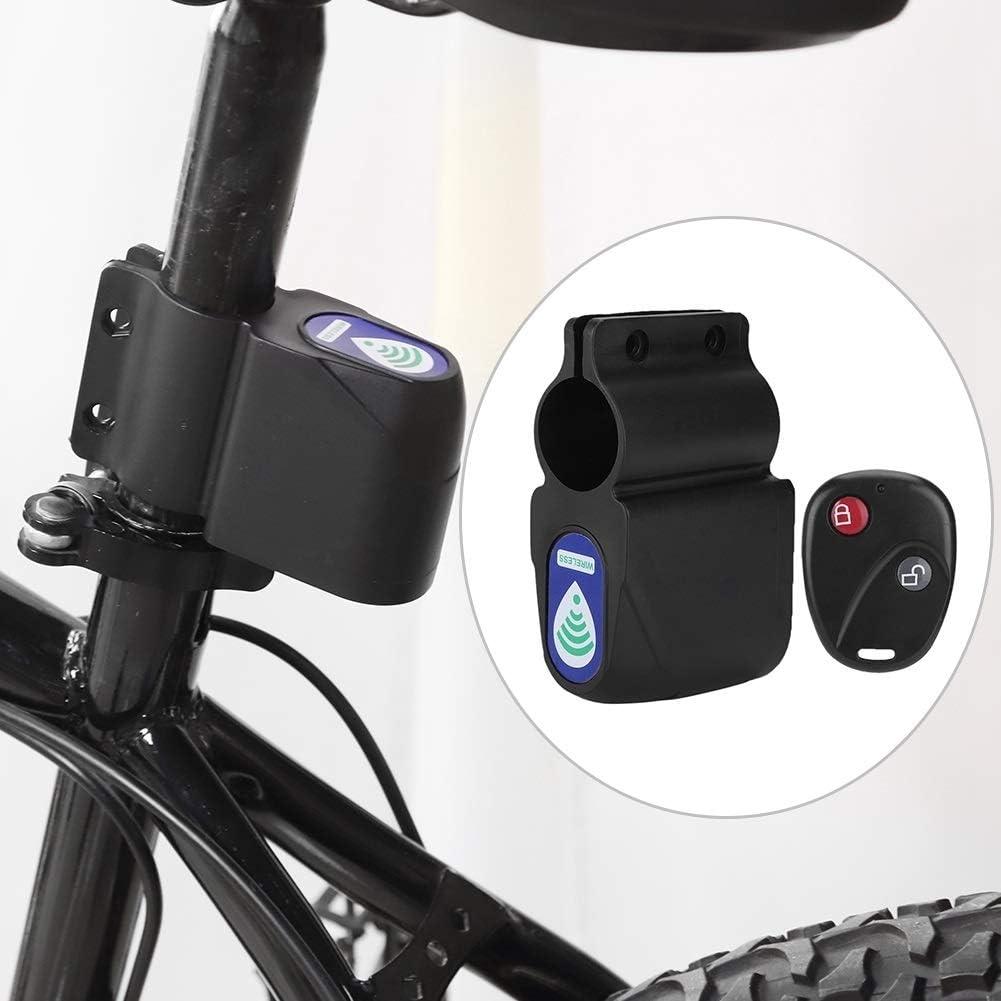 Alarma teledirigida de bicicletas antirrobo Bloqueo de la bici de ciclo de bloqueo de seguridad inal/ámbrica Broco Alarma Bicicleta