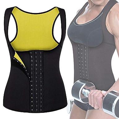 9a9358148d8 Besiefy Women Neoprene Waist Trainer Corset for Weight Loss Body Shaper  Workout Tank Top Slimming Vest