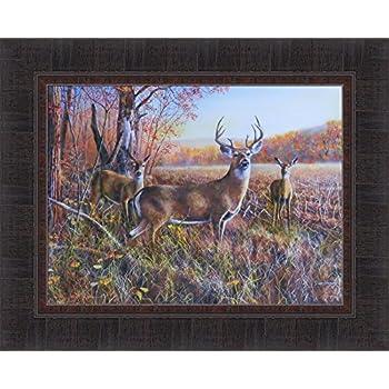 Amazon Com The Gathering By Jim Hansel 11x15 Deer Buck