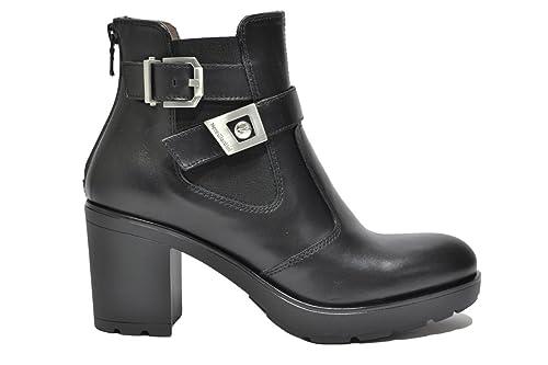 NERO GIARDINI Polacchini scarpe donna nero 6520 mod. A616520D