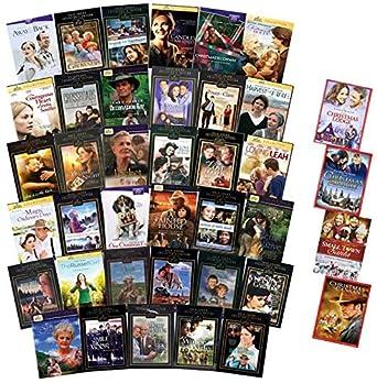 Amazon Com Ultimate Hallmark Hall Of Fame Dvd Collection 35 Hallmark Hall Of Fame Titles 4 Bonus Holiday Movies Sarah Plain Tall Trilogy Love Letter Loving Leah Secret Garden One Christmas