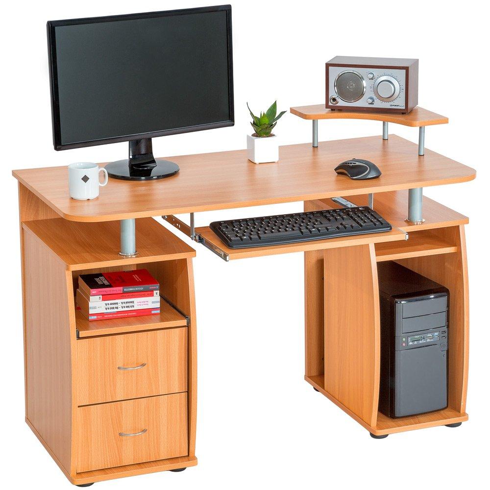 petit meuble ordinateur bureau jeanblanc taille unique. Black Bedroom Furniture Sets. Home Design Ideas
