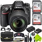 Nikon D7200 DSLR Camera with Nikon 18-140mm Lens Professional Kit