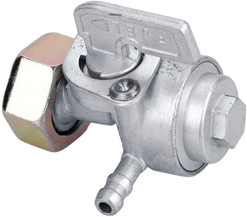 Llave de Purga de Bomba de v/álvula de Interruptor de Combustible de Encendido//Apagado de Tanque de Gasolina para Honda OKBY V/álvula de Interruptor de Combustible para Honda