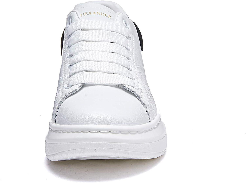 Femmes Baskets Mode Cuir Plateforme Sneakers Basses Chaussures /à Lacets