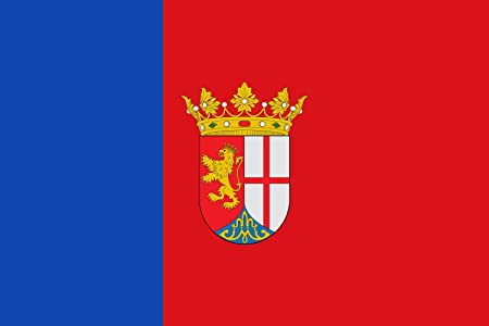magFlags Bandera XL El Burgo de Ebro - Zaragoza - España | Bandera Paisaje | 2.16m² | 120x180cm: Amazon.es: Jardín