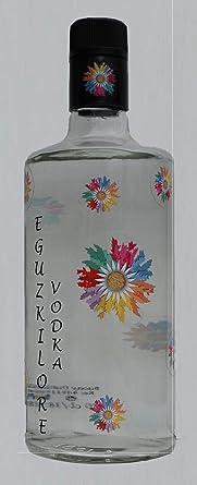 VODKA EGUZKILORE - Botella 70cl: Amazon.es: Alimentación y bebidas