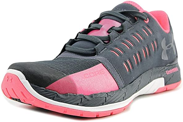 ATHLETIC SHOES CHARGED CORE GREY PINK