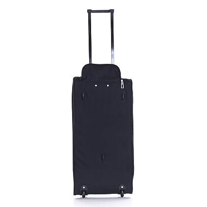 Generic ed Travel Lugga Funda Bolsa Ruedas Lugga Holdall Maleta Todos Suitcas Extra Grande XL Ggage