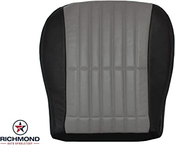 2002 Chevy Camaro 35th Anniversary Edition-Driver Side Bottom Leather Seat Cover