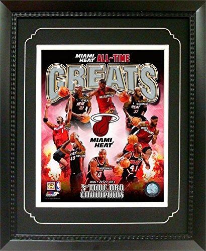 NBA Miami Heat Champions Deluxe Frame, 11x14 Deluxe Frame Miami Heat