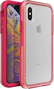 LifeProof SLAM Series Case for iPhone Xs & iPhone X - Non-Retail Packaging - Coral Sunset