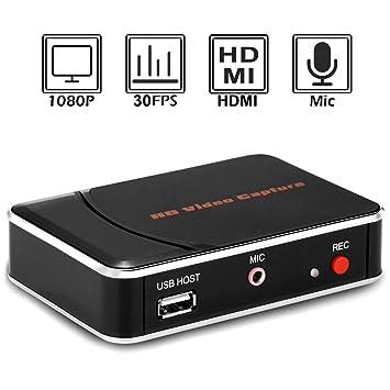 Amazon.com: EpRec - Tarjeta de captura de juegos HDMI (1080p ...