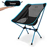 Sunyear Lightweight And Compact Folding Camping Backpack Chairs, Portable, Breathable And Comfortable, Perfect for Hiking/Fishing/Camping