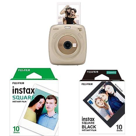 8a14bc24d92c Fujifilm Cámara instantánea SQ 20  Amazon.es  Electrónica
