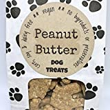 5 oz Peanut Butter Dog Treats/Handmade/Corn Soy and Dairy Free/Egg Free/Vegan/No Added Preservatives, Fillers or Color