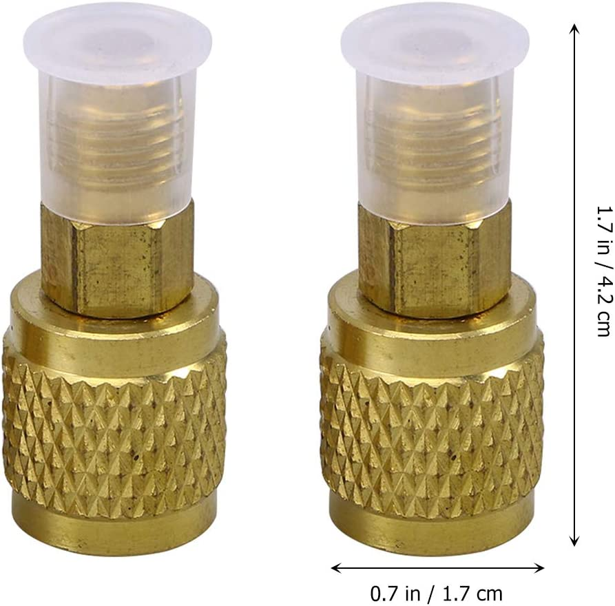 Doradas Vosarea R410 Juego de 2 mangueras adaptadoras para Aire Acondicionado