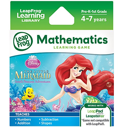 LeapFrog Disney The Little Mermaid Learning Game (for LeapPad Platinum, LeapPad Ultra, LeapPad2, LeapPad3, LeapsterGS Explorer)