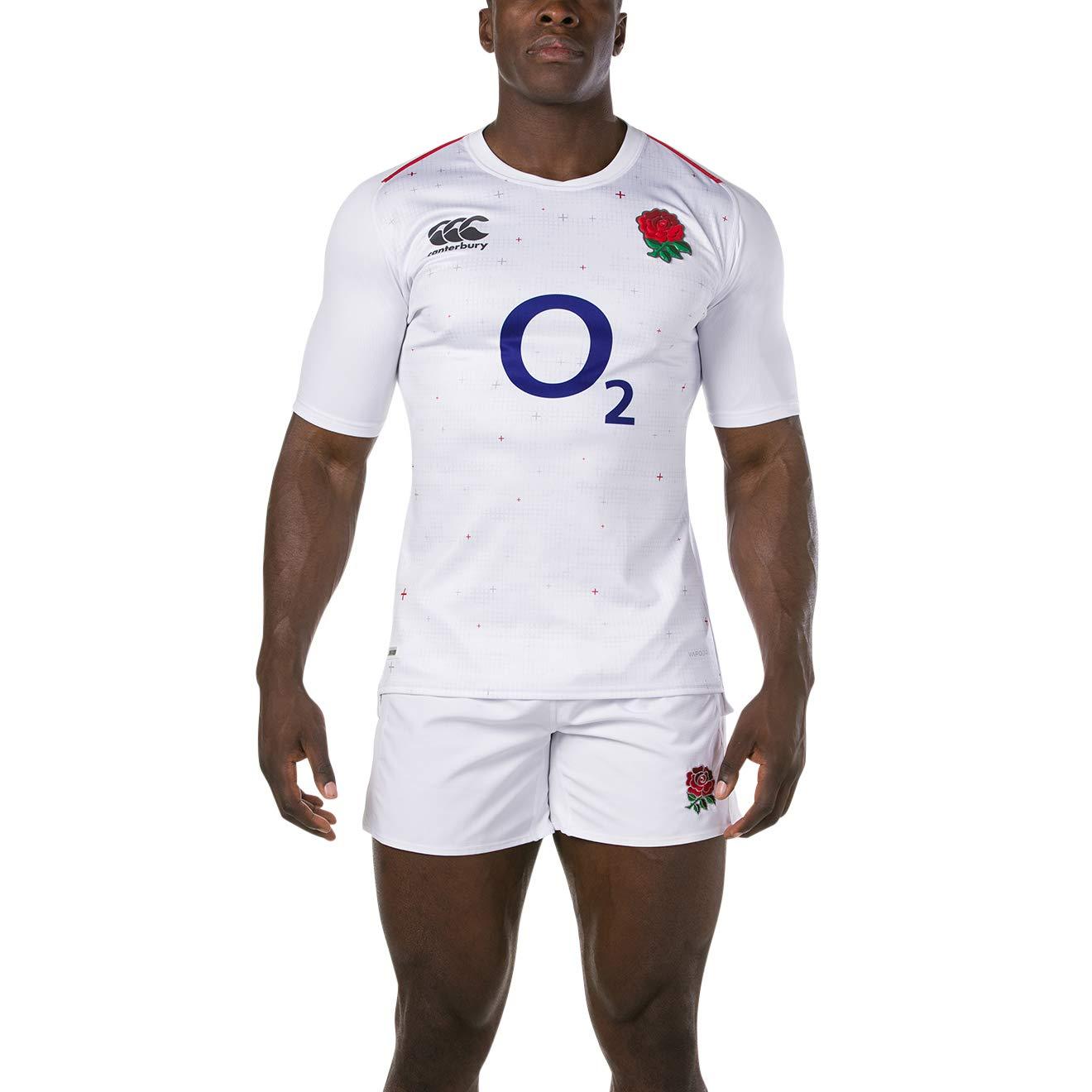 Canterbury pour Homme Officiel Angleterre 18//19/Home Pro Maillot de Rugby en Jersey