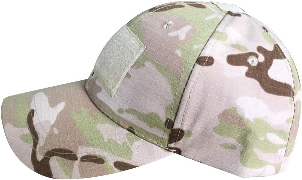 QMFIVE Chapeau Tactique Outdoor Chapeau Solaire Multicolore Chapeau pour Tactique Airsoft Paintball Climb Camping