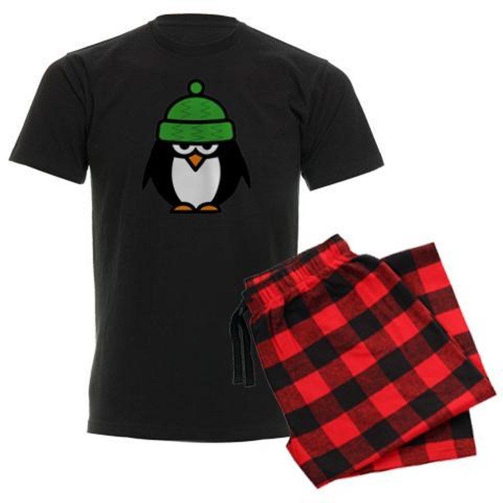 CafePress Funny Penguin Cartoon Pajamas Pajama Set