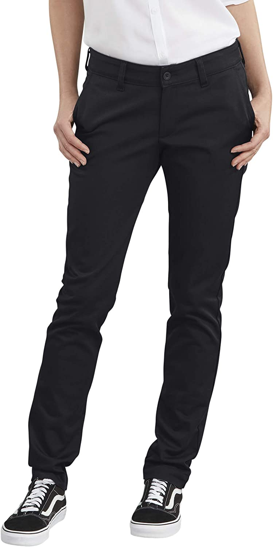 Dickies Women's Straight Flex Twill Pant: Clothing