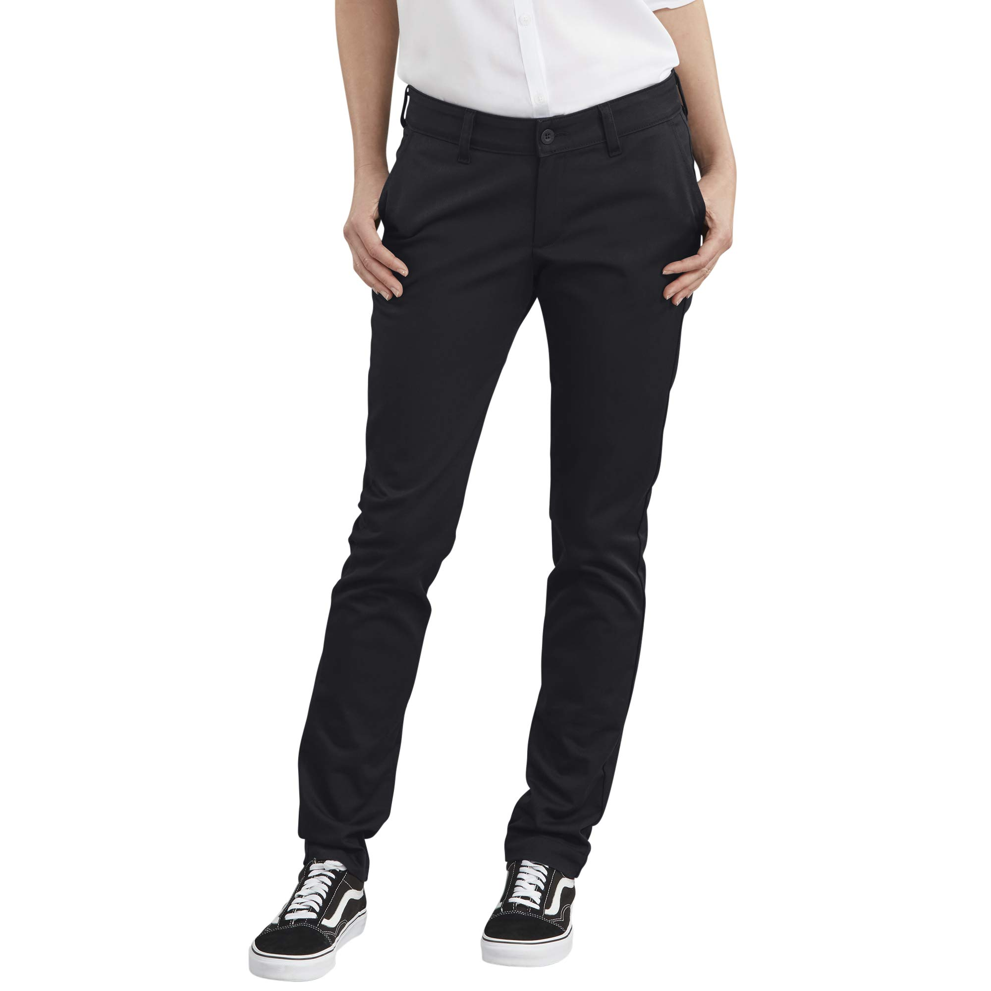 Dickies Women's Straight Flex Twill Pant