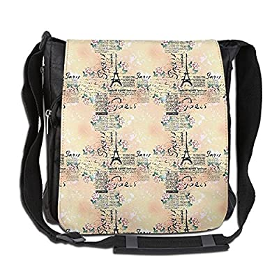 a7fd9b7088ed Lovebbag French Paris Themed Lettering With Floral Leaves Details ...