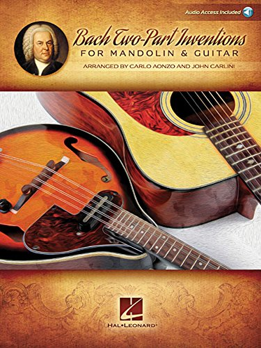 Bach Two-Part Inventions for Mandolin & Guitar: Audio Access Included!