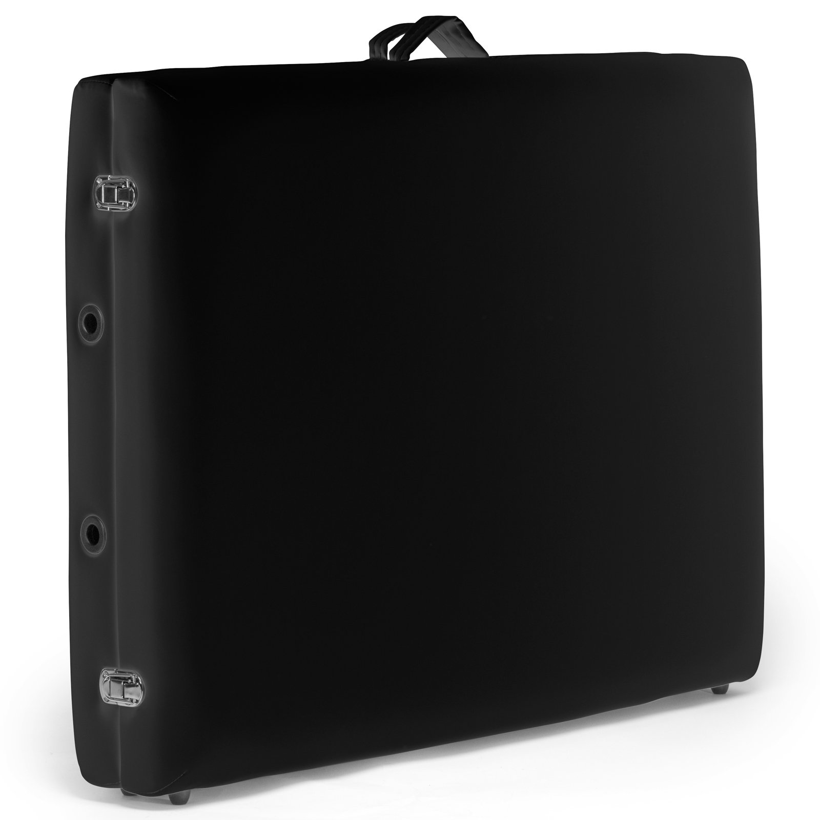 Saloniture Professional Portable Folding Massage Table with Carrying Case - Black by Saloniture (Image #4)