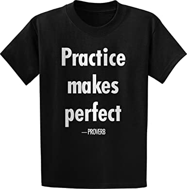 Amazoncom Threads Of Doubt Proverb Practice Makes Perfect Quote