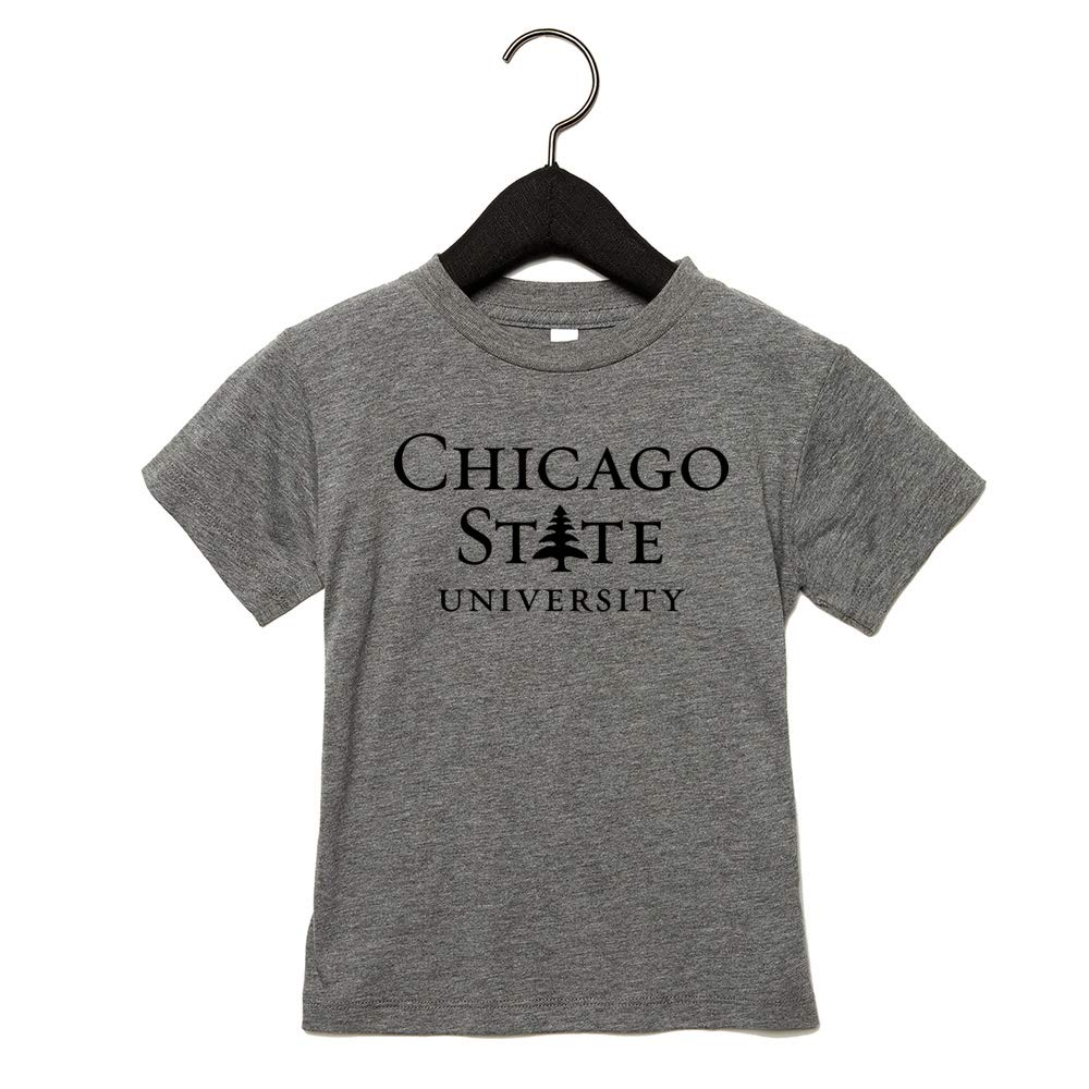 NCAA Chicago University PPCST008 Toddler Triblend Short Sleeve Tee
