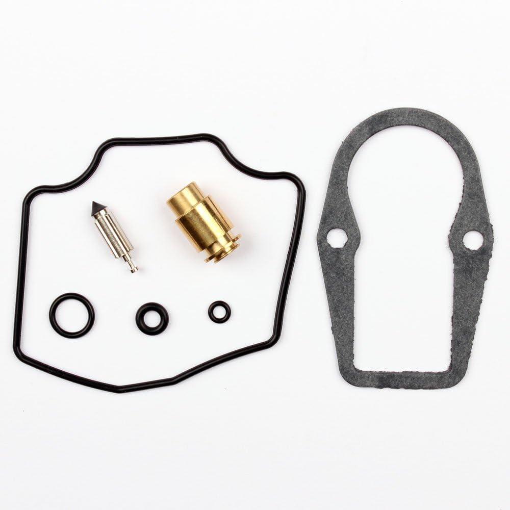 1x Kit Recompatible paraci/ón Carburador Aguja del flotador compatible para YAM TT 225 SRX XT 550 600