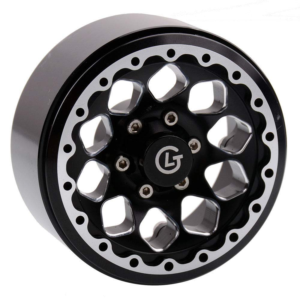 Toyoutdoorparts 4X RC OEM Aluminum Hub 1.9'' Universal Rock Crawler Beadlock Wheel (LJ191)