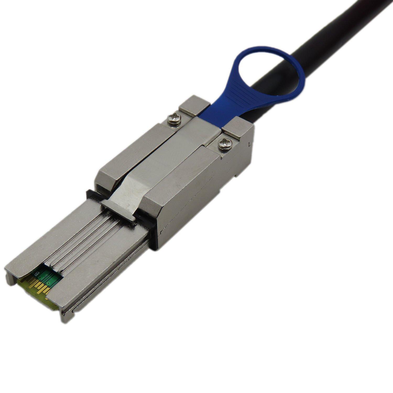 CABLEDECONN Mini SAS26P SFF-8088 a SFF-8088 2M cavo esterno collegato SCSI