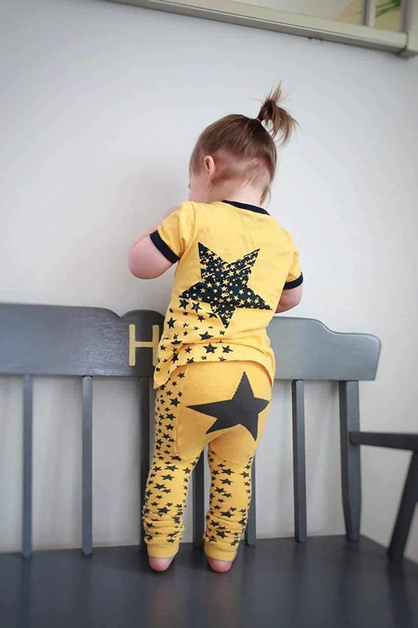 Girls /& Baby Legging Doodle Pants Space Collection 3M-3T Toddler Boys