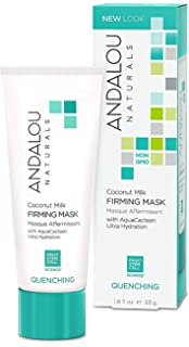 Coconut Milk Firming Facial Mask - 1.8 fl. oz. by Andalou Naturals (pack of 1) Murad Intensive Age Diffusing Serum 1.0 oz - New in Box