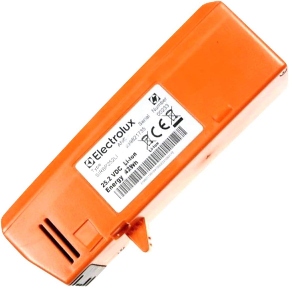 Batería embalaje/envase 25,2 V Fl para piezas de aspirador pequeño electrodoméstico Electrolux: Amazon.es: Grandes electrodomésticos