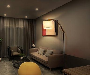 Kreative Nordic Massivholz American Retro Village Wohnzimmer Lampe Couchtisch Studie Einfache Schlafzimmer Stehleuchte