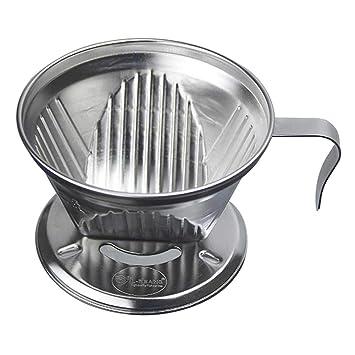 Filtro de café de acero inoxidable reutilizable, taza de ...
